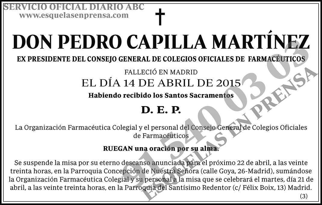 Pedro Capilla Martínez